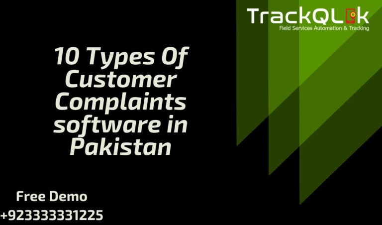 10 types of Customer Complaints Software in Pakistan