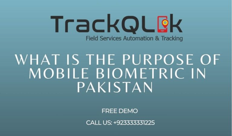 What Is The Purpose Of Mobile Biometric In Pakistan